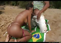 Gotta exalt someone's skin seashore more Brazil
