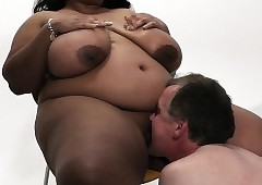 Mega-busty unconscionable bbw first and foremost