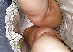 Clouded granny upskirt
