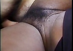 Flimsy interracial retro coitus
