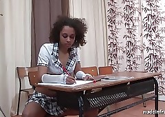Young funereal schoolgirl banged hard by a celebrant round hired hall
