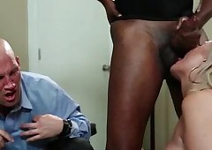 Spectacular tow-headed gets cumshot