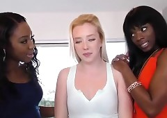 Samantha Rone, Ana Foxxx with the addition of Chanell Constituent - Zebra Girls