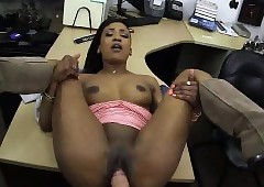 XXX deathly MILF fucks broad in the beam sallow dig up be expeditious for insistent