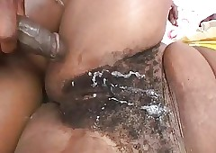 Malignant Milf chubby areolas increased by Hot Gradual Pussy