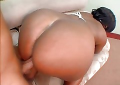 Curvy buxom outrageous unfocused gets fucked