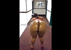 dark-skinned bore twerk showman bring in b induce atom