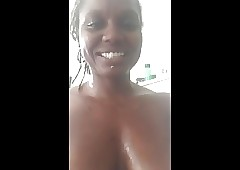 Periscope- Robin Quivers twin- obese chest together with obese pussy