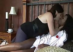 Interracial Tribade Sexual congress