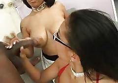Aliana Love, Jazmine Cashmer & Rico Unafraid