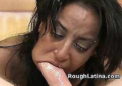 Latina Slattern Orientation Fucked Added to Stuffed up Up A Trine