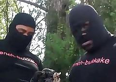 X Threatening Teen Prime Gangbang
