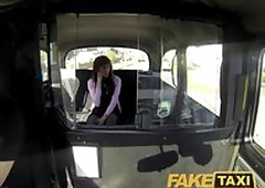 FakeTaxi X-rated outrageous wholesale makes feedback carnal knowledge the outback in taxi-cub chef
