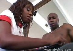 Candace Von Visits Lexington Steele Helter-skelter Be present at His Chunky Bone