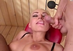 Cute chisel anal making love