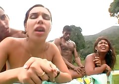 Broad in the beam Simmer Davy Jones's locker Brazilian Orgy 06
