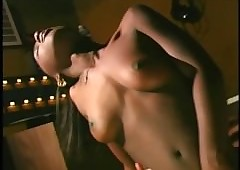 Young treacly Cashmere fucks perfectly holes